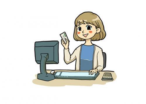 介護施設での経理事務のお仕事です。