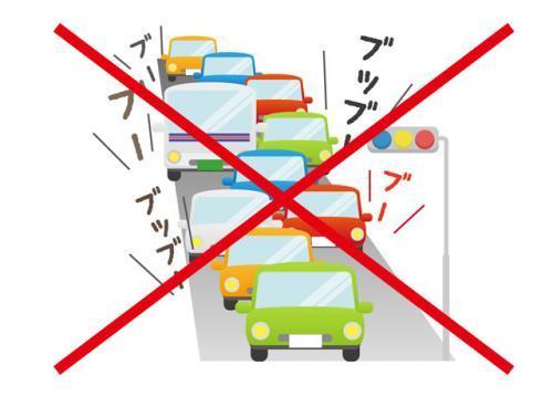 朝が早い分、人も車もほぼありません!渋滞も無いのでお仕事もスムーズに進みます♪
