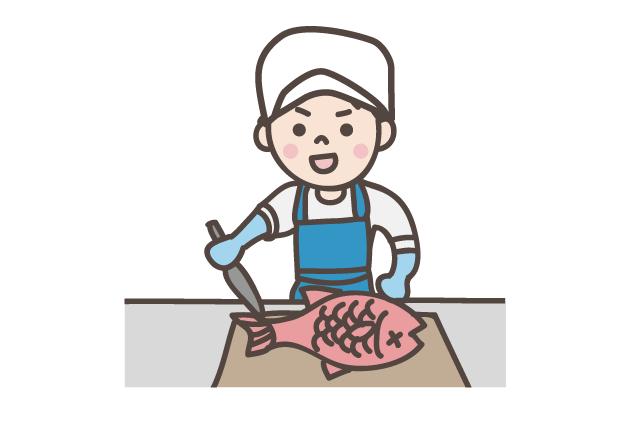 魚加工、バイトのお仕事|松山市平和通、伊予郡砥部町