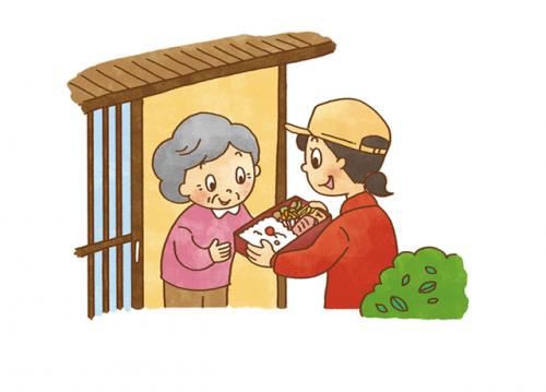 高齢者のご自宅へお伺い、手渡しでお届けするのがメインです。