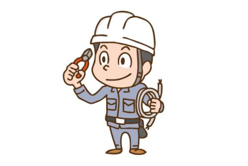 電気工事通信業務、社員のお仕事|松山市今在家