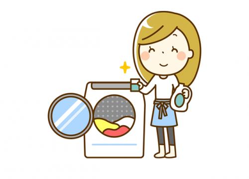 午前中にはお掃除・洗濯など家事をこなして午後からのお仕事♪