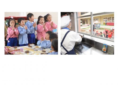 子どもたちに喜ばれるお仕事☆ご家庭での料理作りにも役立ちます♪