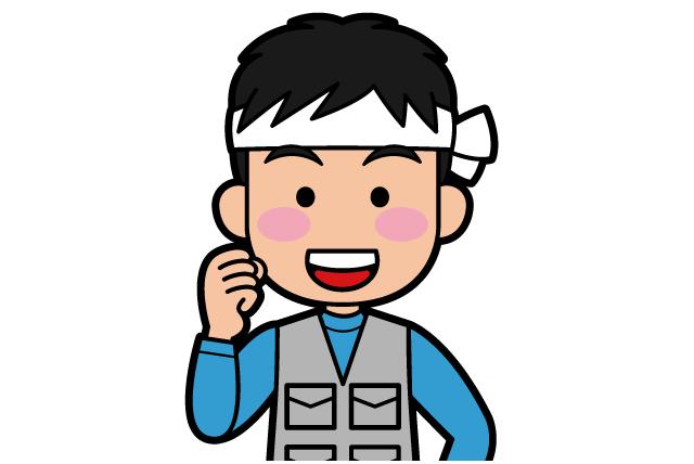 型枠解体作業、社員のお仕事|松山市居相
