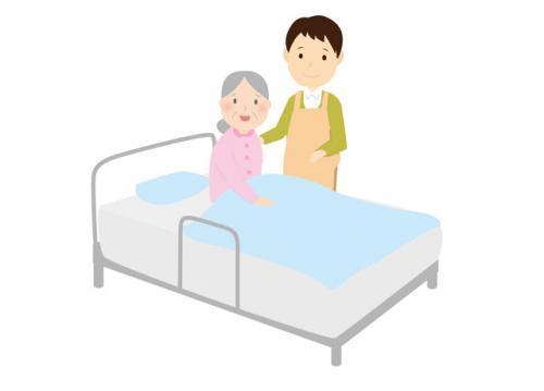 病棟にて入院患者様のお世話をしていただきます。