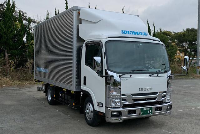 残り1名の2tトラックドライバー、社員のお仕事|松山市井門町