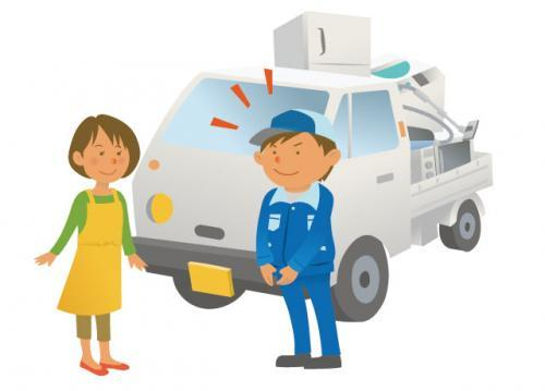 ご依頼いただいたお客様の所にお伺いし、リサイクル品や不要品の回収をしていただきます。