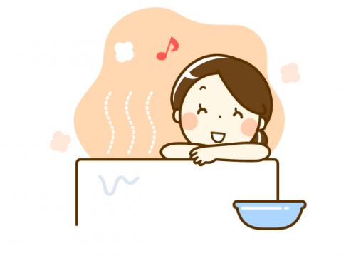 社員専用のお風呂あり!仕事終わりに汗を流してさっぱりして帰宅できます。