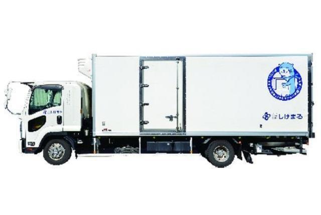 3t・4t・2tトラックでのルート配送、社員のお仕事 松山市南吉田町