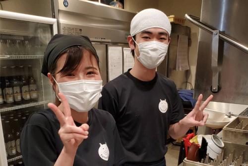 飲食店での夕方からのホール・キッチン業務、バイトのお仕事|松山市二番町