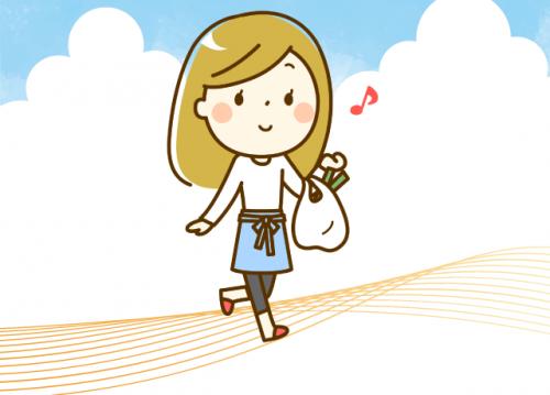 仕事前や仕事終わりのお買い物にとっても便利♪