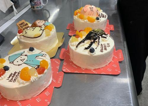 世界でたったひとつのオーダーメイドケーキ…そんな特別なケーキを作るお店です♪