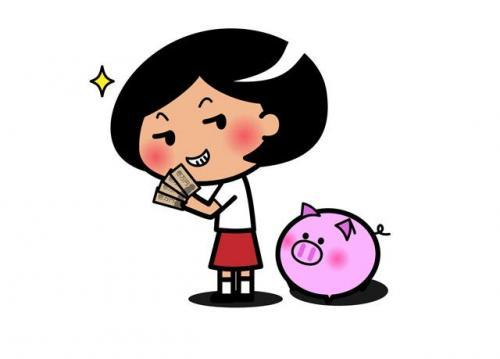 子どもの預金はもちろん、家計の足しなど、へそくりにも…笑