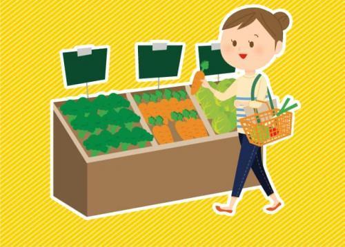 職場の近くにスーパーがあるので、仕事帰りに買い物が出来てとっても便利♪