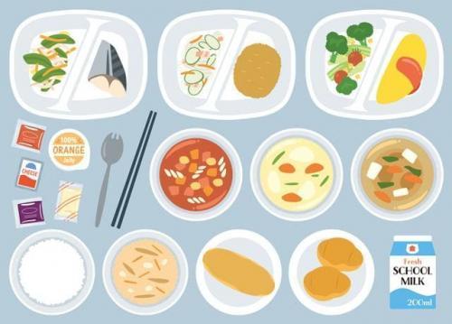 メニューは家庭料理の延長で出来る内容だから作りやすい。