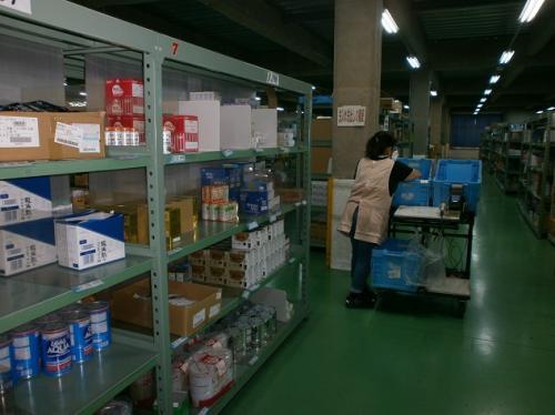 日用雑貨のピッキング作業|松山市中野町