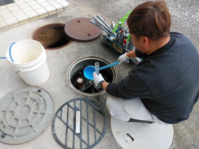 水道工事に伴う軽作業、バイトのお仕事|松山市別府町