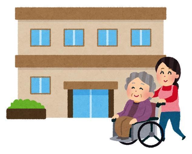 グループホーム施設利用者の日勤介護