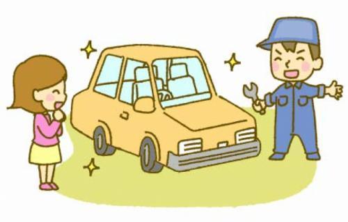 自動車修理工場で整備、社員のお仕事|松山市山越