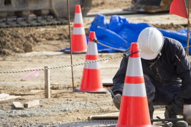 民間宅地造成工事、公共工事の土木作業員