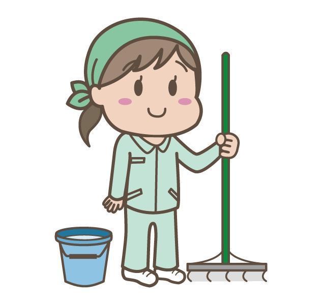 道後温泉病院内での清掃、パート・バイトのお仕事|松山市道後姫塚
