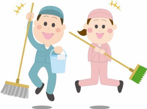 清掃作業、社員のお仕事|伊予市宮下