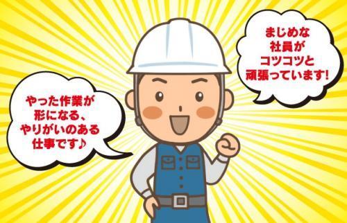 コンクリート部分の基礎作り 社員|松山市北土居