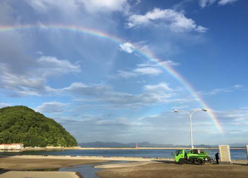 こんなキレイな虹のようにアナタも輝けます!