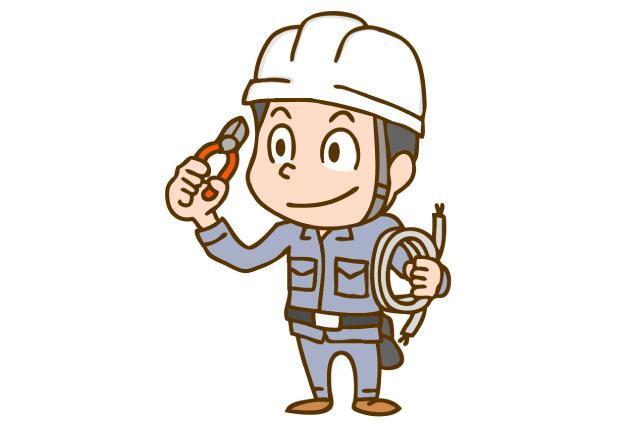 電気工事および軽作業、社員のお仕事|松山市竹原