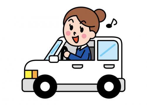 配達で使用する車は軽四のAT車(ワゴンR)なのでとても運転しやすいです♪