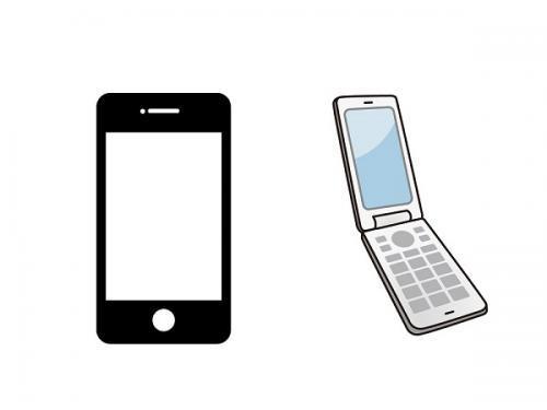 会社から携帯電話を貸与(スマホ・ガラケー)!仕事とプライベートを分けれますよ。