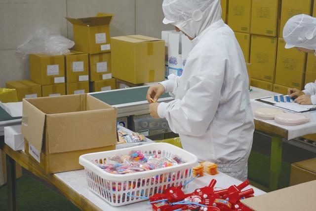 お菓子の箱詰め、その他作業、パート・バイトのお仕事|松山市空港通