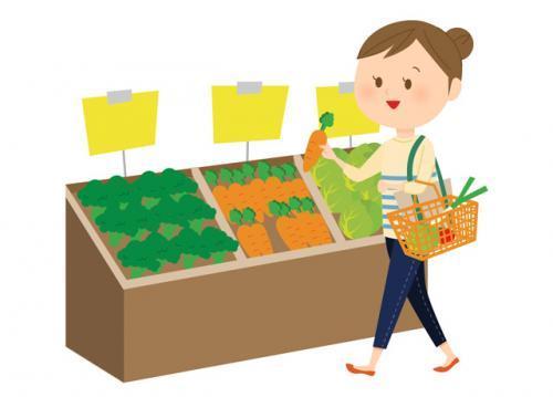 職場の隣にスーパーがあるので、仕事帰りに買い物が出来てとっても便利♪