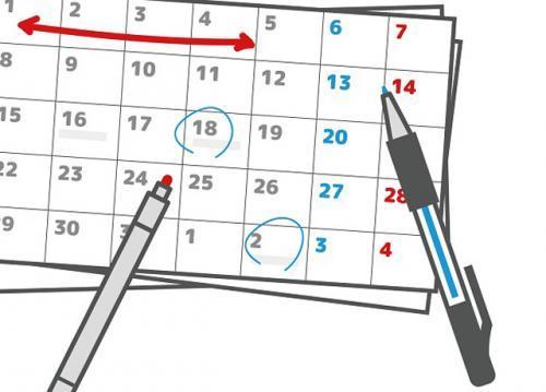 週3〜4日勤務で、シフトは月一回で決めるのでプライベートの予定も立てやすい。